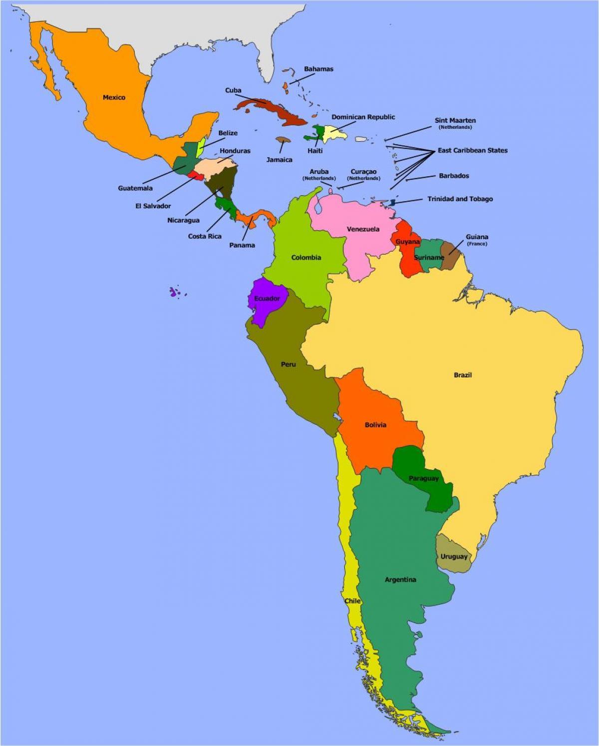 Belize Del Amerika Terkep Terkep Belize Del Amerika Kozep